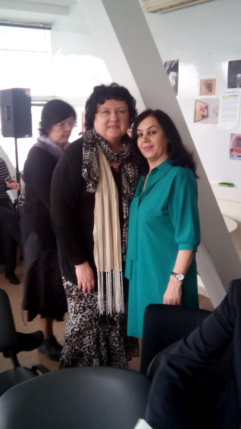 Надежда Ажгихина и Халима Хушкадамова