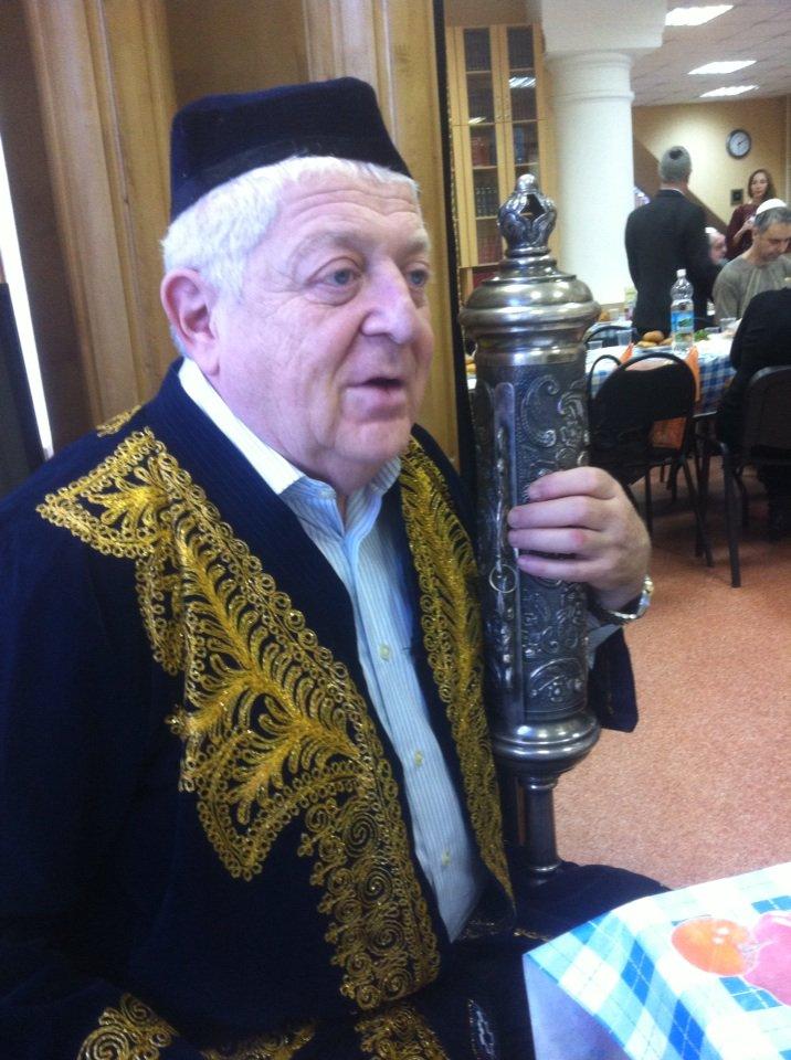 Руководитель Еврейской национально-культурной автономии Игорь Эльгарт